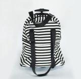 Lo zaino della tela di canapa del reticolo della zebra con 4 spinge dentro lo stile del carrello