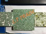 착용 저항하는, 쉬운 정비 및 청소는, 개장한 녹색 범위 테라조 도와일 수 있다