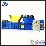 トウモロコシのわらのための水平の構造の油圧梱包機