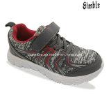 Dos esportes superiores respiráveis das crianças do engranzamento sapatas Running