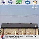 Magazzino strutturale/edificio/costruzione del metallo chiaro africano di basso costo
