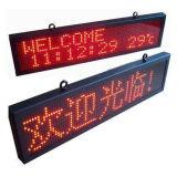 Afficheur LED extérieur rouge simple d'IP 65