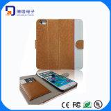 Echtes Leder schützen Deckel für iPhone 6 (LC-C006)