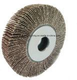 Roue abrasive d'aileron pour le métal meulant et sablant