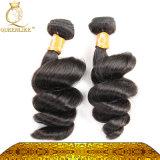 Jungfrau-indische Großhandelshaar-Webart für schwarze Frauen (FDXI-BL-009)