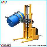 Rotator inoxidável Yl600A do cilindro de aço de um funcionamento ereto de 360 graus