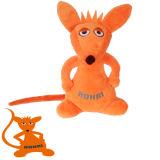 Het grappige Veilige Zachte Stuk speelgoed van de Pluche van de Baby van Schapen Stuk speelgoed Gevulde