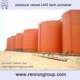 Produto químico 2016 a pouca distância do mar acima do recipiente à terra C-16 do tanque