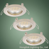GU10/MR16 fixe Recessed Ceiling Downlight Fixture pour Whole Sale