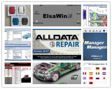 Software Alldata 10.53 de la reparación auto 2016 + Mitchell 49in1 a pedido 1tb HDD