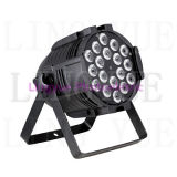 Indoor 18X18W RGBAW + UV DMX Stadiums LED PAR-Licht
