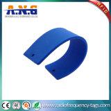 Tag passivos da freqüência ultraelevada RFID do silicone da escala longa para o atletismo