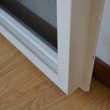 Maneta especial, red de mosquito, ventana de desplazamiento blanca del perfil del color UPVC Kz123
