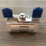 Robinet à tournant sphérique lourd de partie de type 1 de solides totaux avec le traitement de guindineau