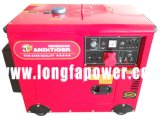 Одобренный Ce генератор пользы 5kw 5kVA домой молчком тепловозный