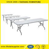 공장 싼 가격 및 100% 좋은 품질 Retangle Foldable 플라스틱 당 테이블