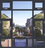 Италия Casement пролома 150 серий окно термально стеклянное с сетью экрана