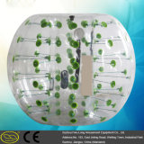 TPU/PVC-im Freien menschliche Luftblasen-Innenkugel-aufblasbarer Luftblasen-Fußball