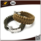 Paracord Rope Outdoor Survival Bracelet per Camping (HJ7016)
