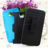 2 in 1 cellulare Caso di Hybrid Belt Clip Holster Armour Robot Phone Cover con Kickstand/Holder/Cradle per il iPhone