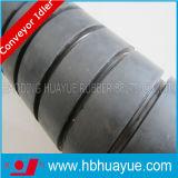 Rouge en caoutchouc Huayue de noir de couleur du diamètre 89-159mm de rouleau de système de ceinturer de convoyeur