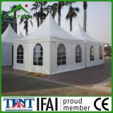 Barraca ao ar livre do dossel do Pagoda da tela do PVC do Gazebo