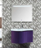 PVC moderno Bathroom Wall Cabinet di Type con Side Cabinet