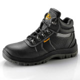 Новое Design Safety Shoes с Bk Mesh Cow Leather Print Palm Embossed Safety Shoes