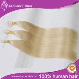 Extensão européia do cabelo humano da queratina da ponta de Remy U