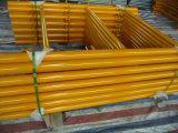 Леса 6 ' X4 рамки Shoring при канадский покрашенный желтый цвет замка