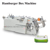 De gemakkelijke Doos die Van uitstekende kwaliteit van de Hamburger van de Verrichting Machine maken (qh-9905)