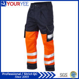 Pantalons bon marché de travail de sûreté élevée de visibilité de bonne qualité (YWP118)