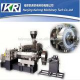 Pequeña venta de la máquina de la granulación del estirador de la escala de laboratorio del tornillo del gemelo de la película plástica