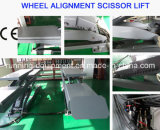 Four-Wheel Alignment를 위한 두 배 Scissor Lift