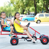 2 Seat Steel Children Pedal идут Cart для 5~12years (GK-003MT)