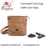 Le canon classique de modèle met en sac le sac en cuir de canon de femme d'unité centrale de Brown