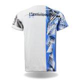 최상 둥근 목 주문품 패턴 유기 티 셔츠