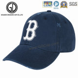 2016 modificó la gorra de béisbol púrpura coreana más nueva del algodón para requisitos particulares con grabado