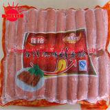 Il pollo Frozen collega il sacchetto di plastica del hot dog del sacchetto
