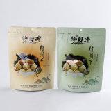 Fastfood- lamellierter Kaffeebohne-Beutel mit Reißverschluss-Verschluss/Plastikverpackungs-Beutel mit Reißverschluss (ML-E12)