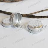 kosmetisches Sahnealuminiumglas 20ml mit Beleg-Kappe