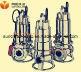 Wq Nicht-Verstopfen preiswerte Preis-Qualität versenkbare Abwasser-Pumpe