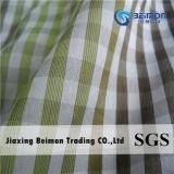 tessuto tinto del filo di cotone di 10.5mm 25%Silk 75% con il disegno di arresto della nervatura