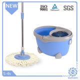 Lavette bleue magique de Microfiber de forme ovale
