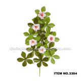 Высокого качества листьев оптовой продажи поставщика Китая листья 3382 бамбука искусственного пластичные искусственние