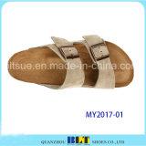 Sandalias de goma del corcho de los hombres del nuevo diseño únicas
