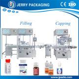 Macchina di coperchiamento di riempimento imbottigliante della bottiglia liquida farmaceutica automatica della medicina