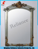 3-6mmミラーまたはアルミニウムミラーまたは装飾のための銀ミラーまたはシートミラーかミラーガラスまたは二重上塗を施してあるミラー