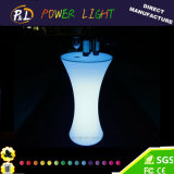 Pub Bar Garden Iluminado Glowing LED Bar Table