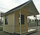 Casa de acero modular económica de la seguridad/casa de protector